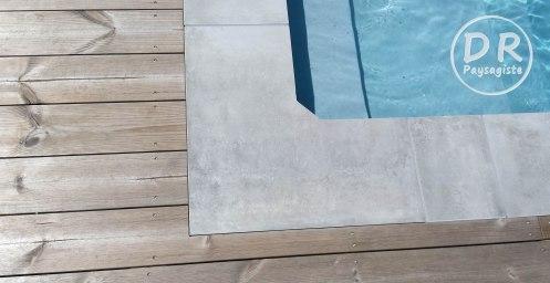 Margelles de piscine taillées sur mesure