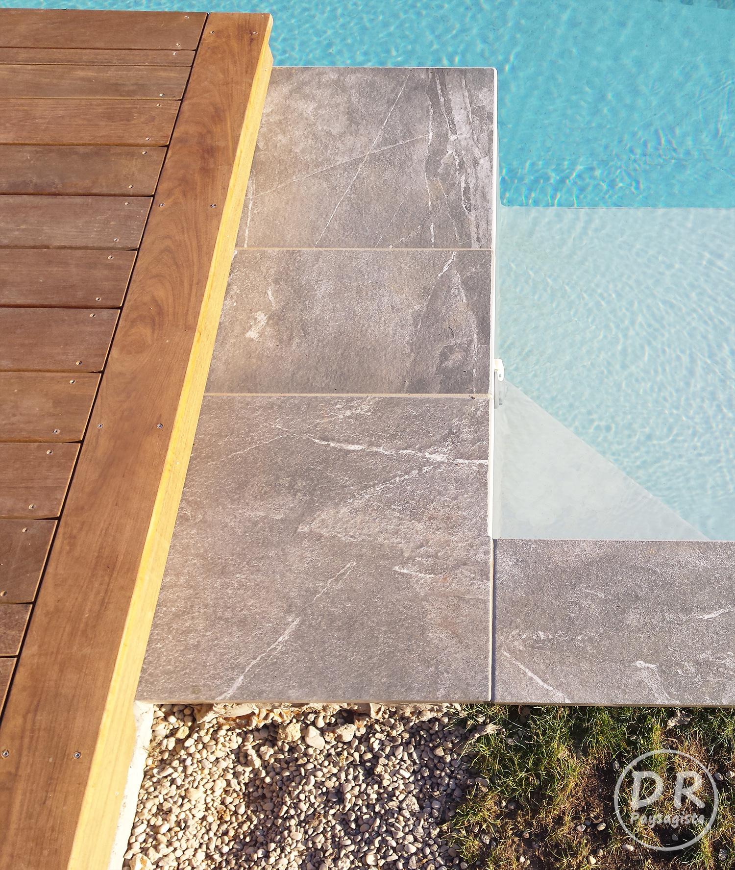 Terrasse bois et carrelage good large size of exterieur - Margelles piscine brico depot ...